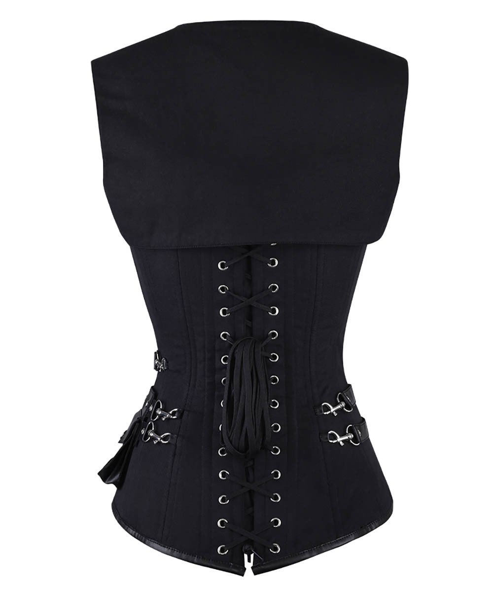 Winnifred Gothic Reversible Custom Made Corset