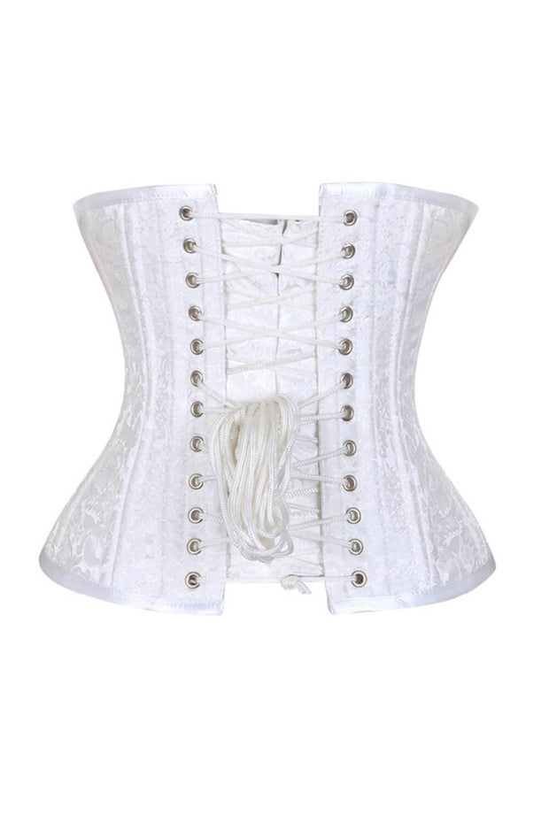 Kenlee White Waist Training Corset