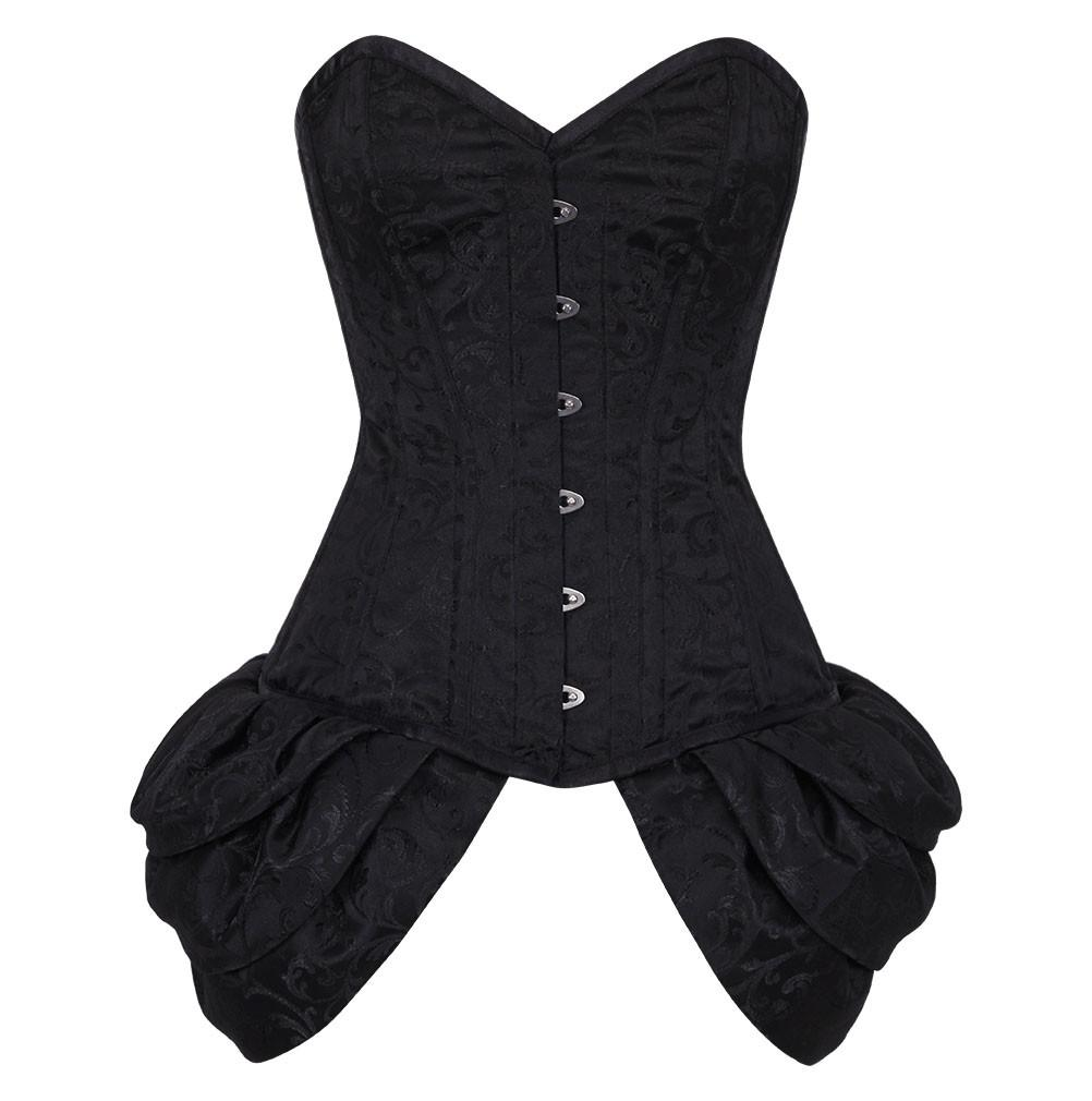 Haimati Black Burlesque Fashion Corset