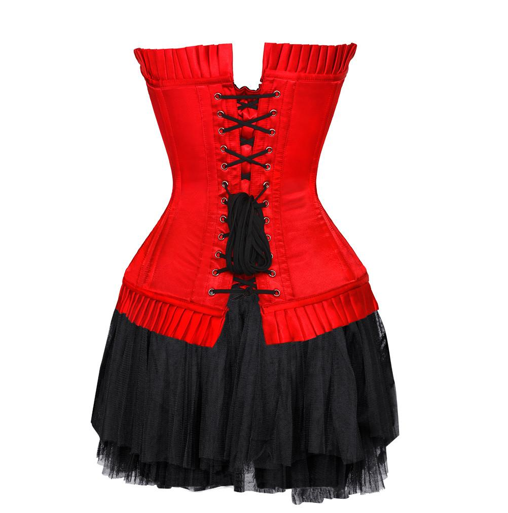 Daisy Red Corset