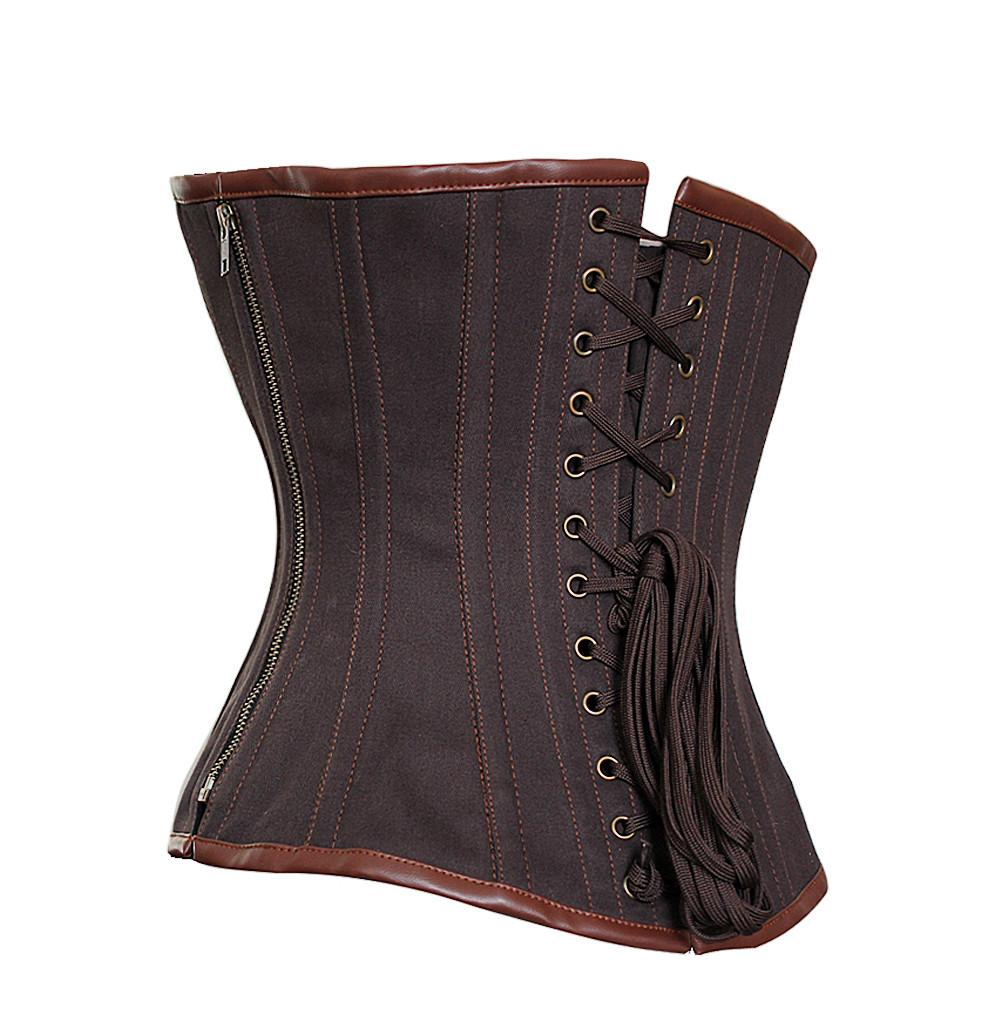 Norah Cotton Steampunk Corset