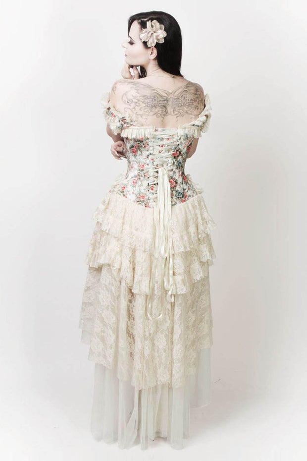 Leighton Victorian Inspired Corset Dress