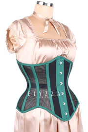 Mesh Underbust Waist Reducing Corset (ELC-501)