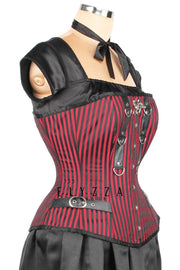 Gothic Brocade Waist Reducing Corset (ELC-401)