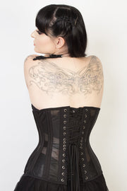 Mesh with Cotton Custom Made Waist Training Corset (ELC-102)