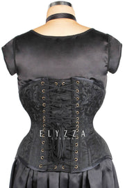 Brocade Underbust Waist Reducing Corset (ELC-501)
