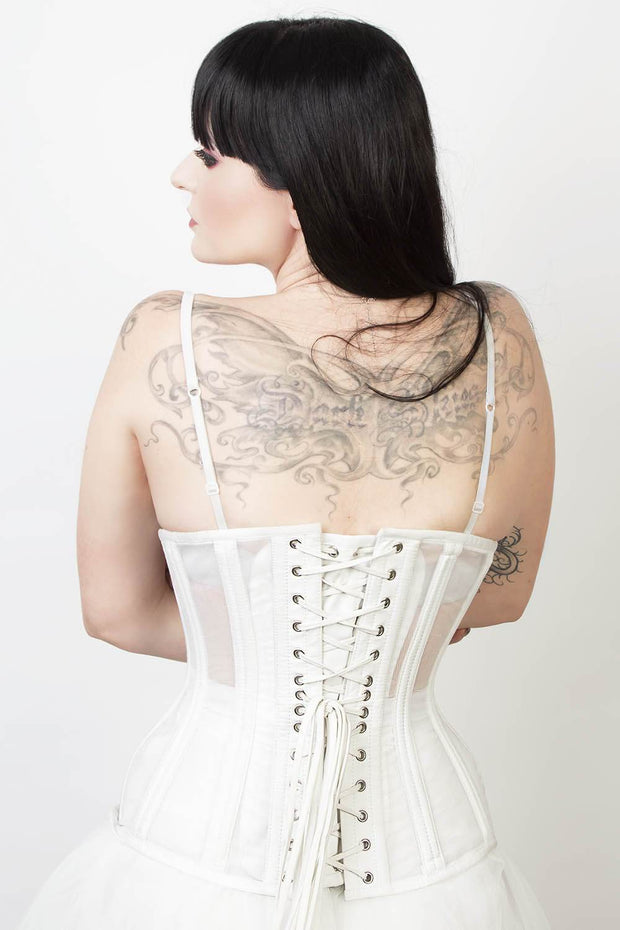 Juliana Mesh with Cotton Waist Training Corset (ELC-102)