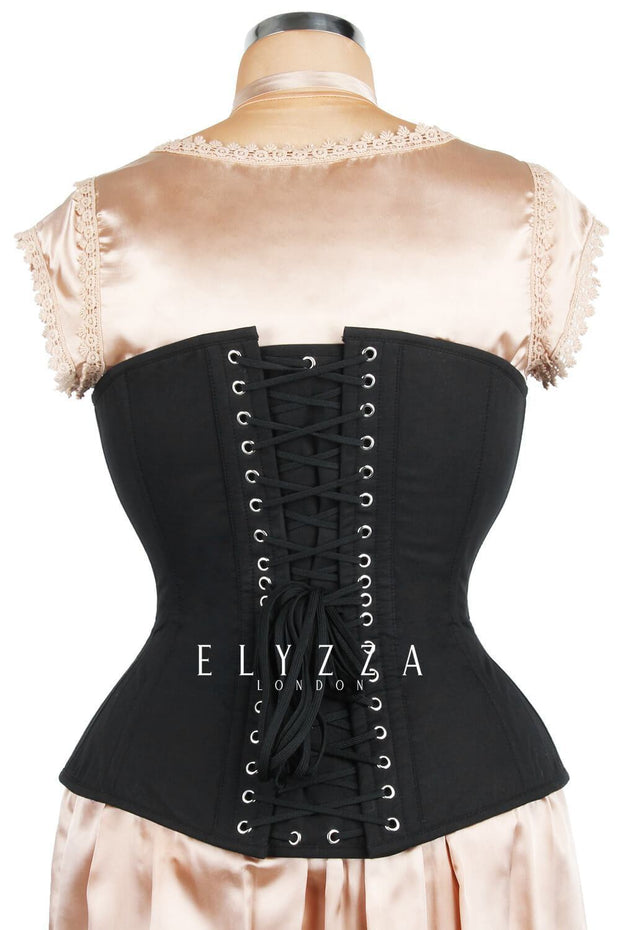 Sweet Heart Custom Made Waist Reducing Cotton Corset (ELC-301)