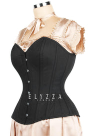 Sweet Heart Waist Reducing Cotton Corset (ELC-301)