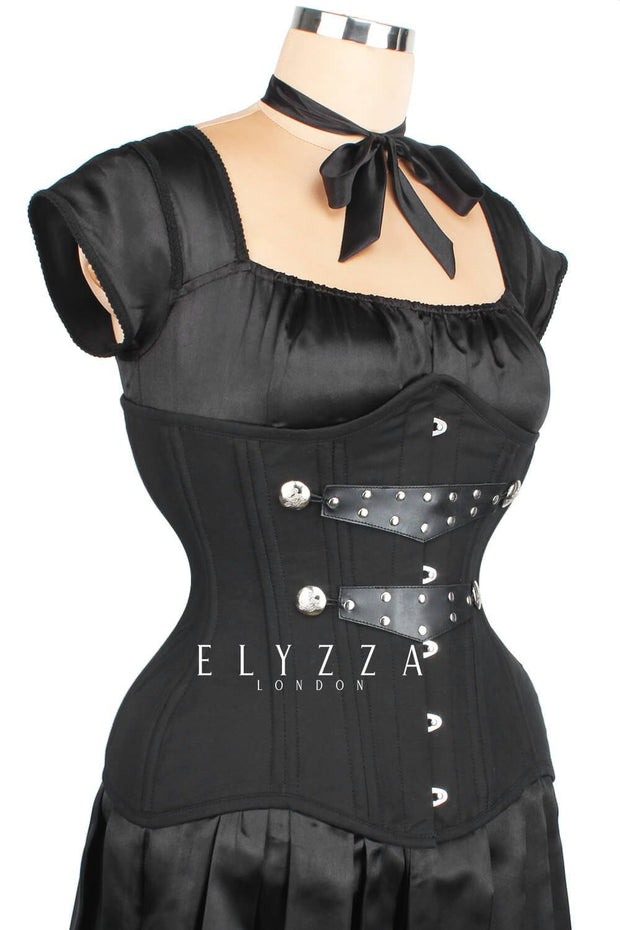 Waist Training Gothic Cotton Corset (ELC-102)