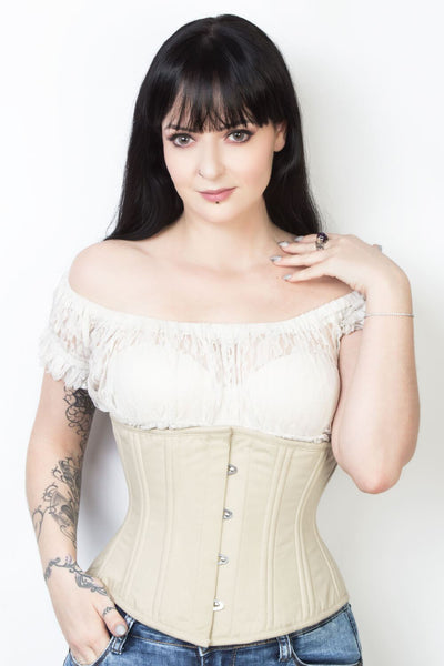 Cotton Steel Boned Waist Training Corset