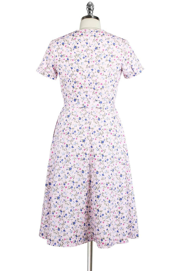 Elyzza London Printed Fit and Flare Dress