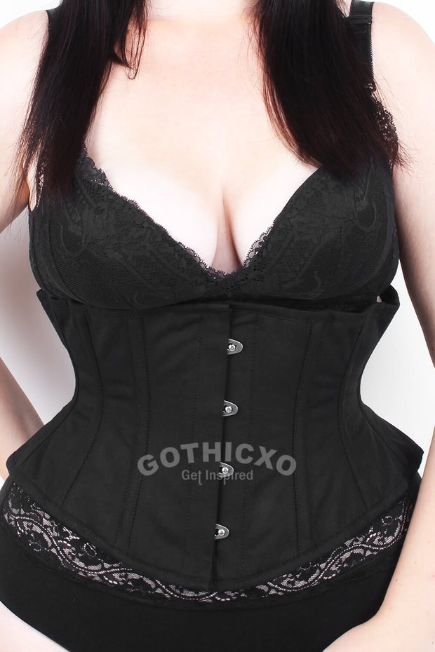Underbust Custom Made Cotton Waspie Corset