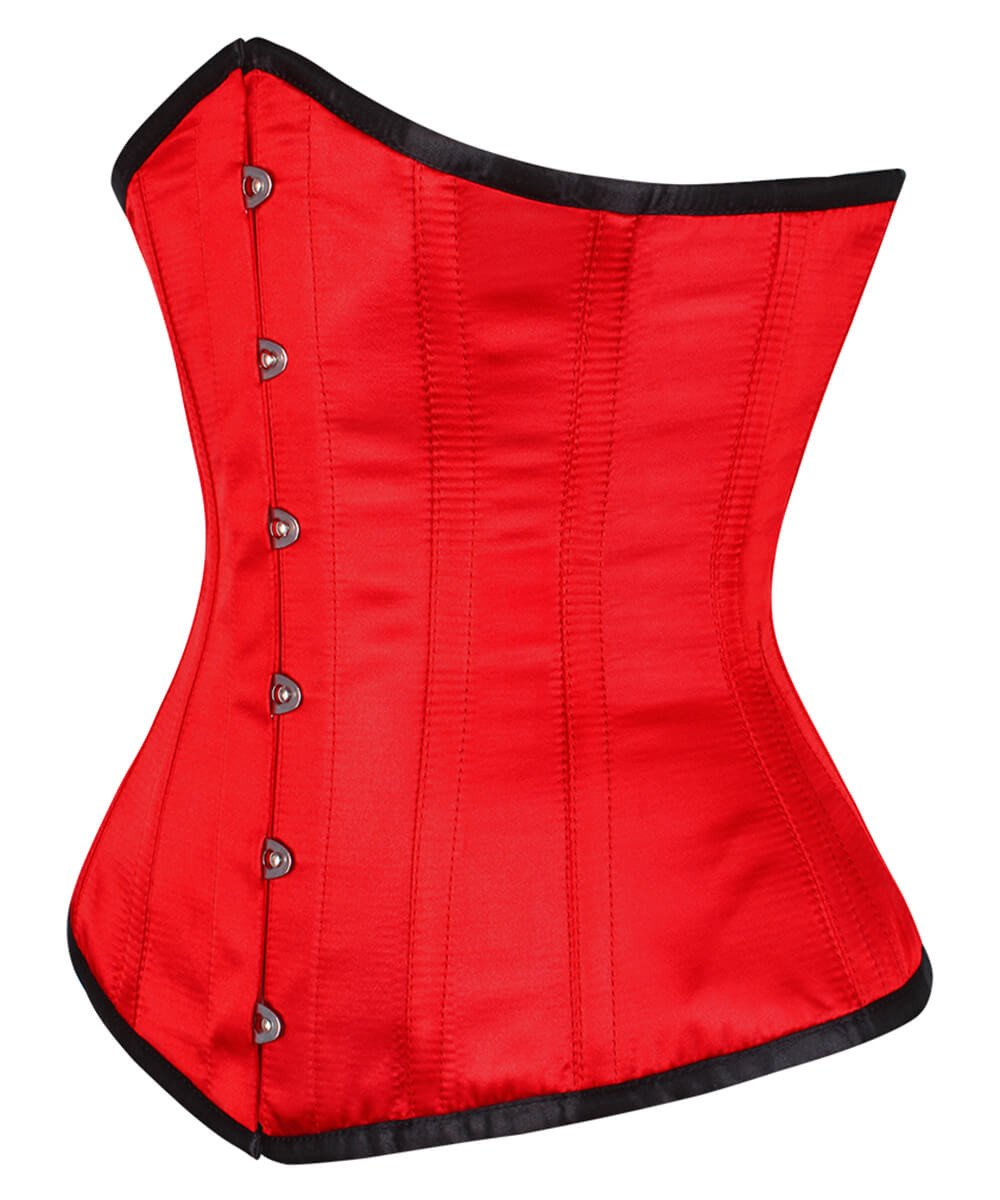 Nevan Red Victorian Corset