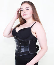 Leilany Gothic Cotton Black Underbust Corset