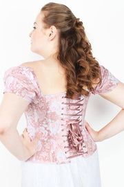 Combo Deal Overbust Printed Corset with Dress