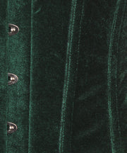SOLD OUT - Anniston Emerald Green Velvet Underbust Corset