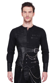 Acanthus Gothic Cotton Men's Corset