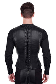 Blodwyn Custom Made Gothic Men's Underchest Corset