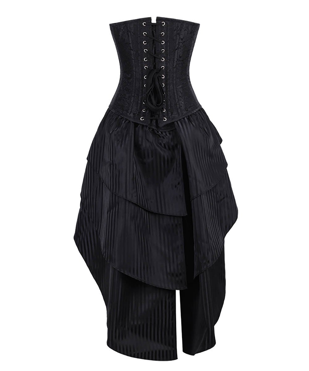 Estrella Overbust Custom Made Corset Dress