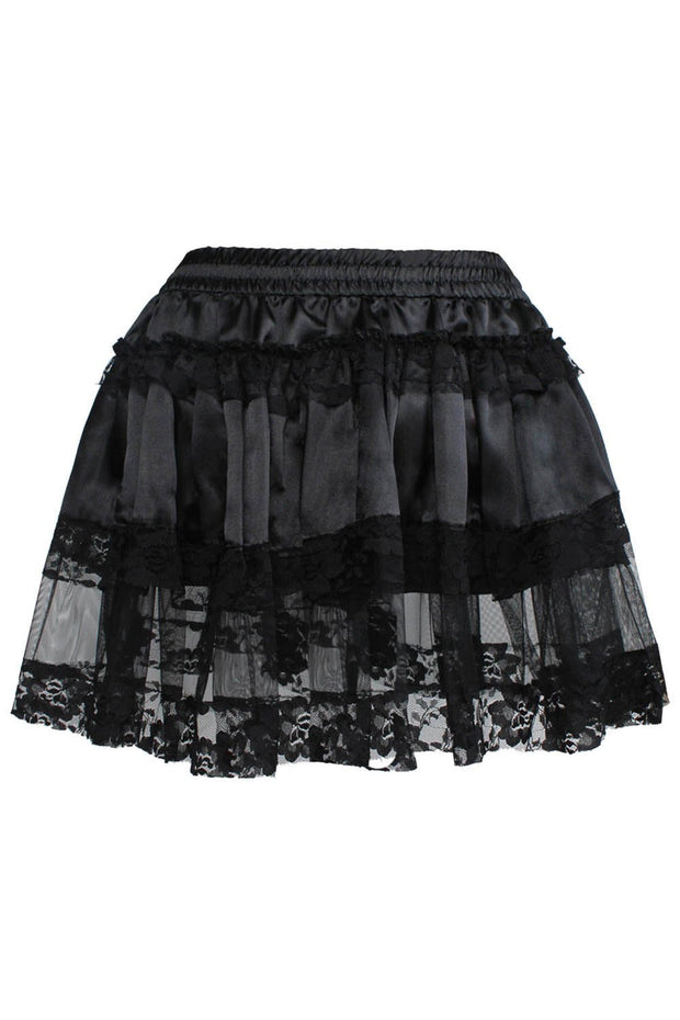 Destiny Gothic Black Tutu Skirt