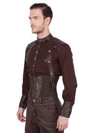Dieter Steampunk Underchest Men's Corset