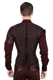 Edlef Custom Made Underchest Steampunk Men's Corset