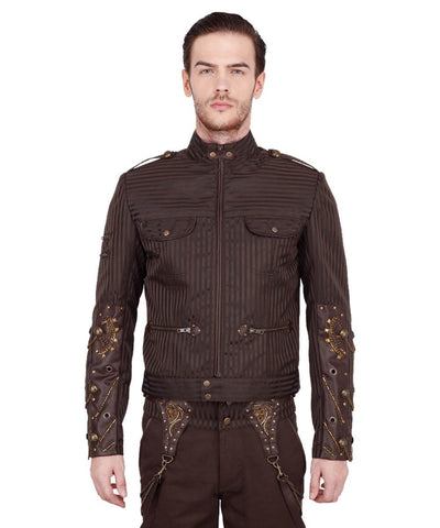 Erdmann Steampunk Men's Jacket
