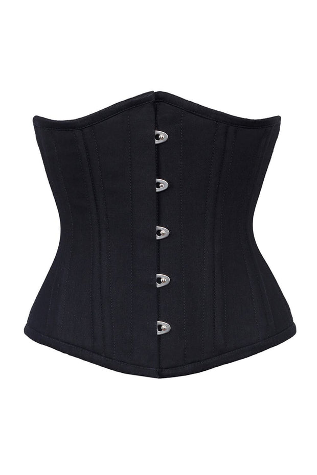Adelita Custom Made Cotton Steel Boned Corset Waist Training