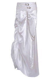 Sheridan Custom Made White Bustle Skirt