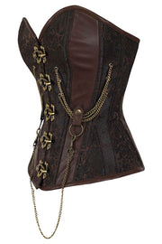 Emmery Steampunk Corset with Chains