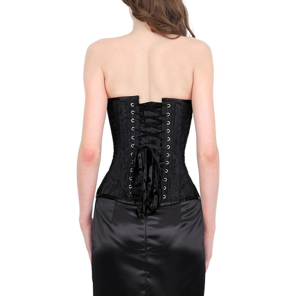 Haine Black Burlesque Fashion Corset
