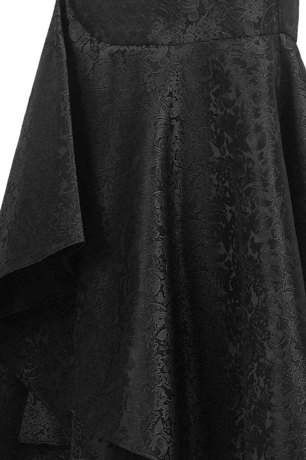 Garia Custom Made Gothic Brocade Ruffle Skirts