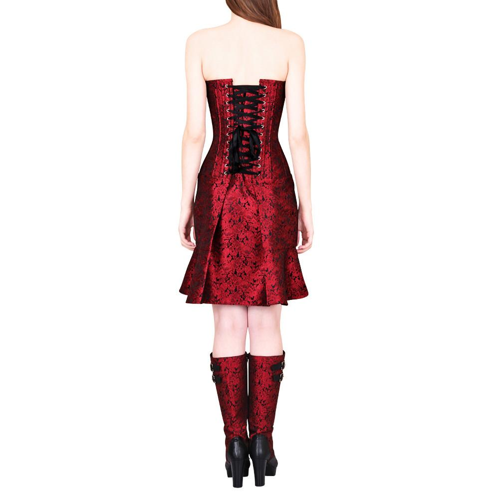 Oleisia Gothic Corset Dress