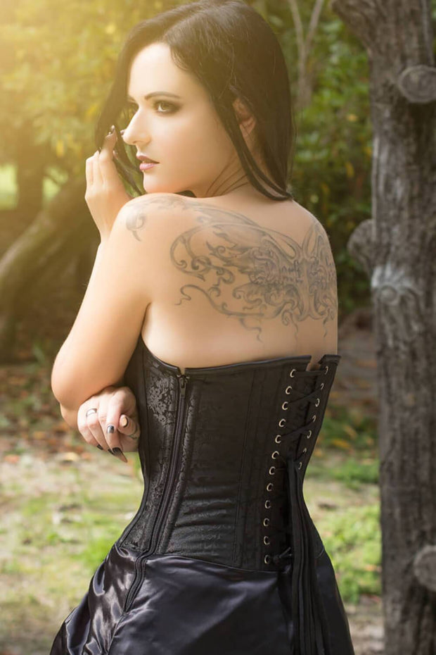 Hamar Overbust Steampunk Corset Dress
