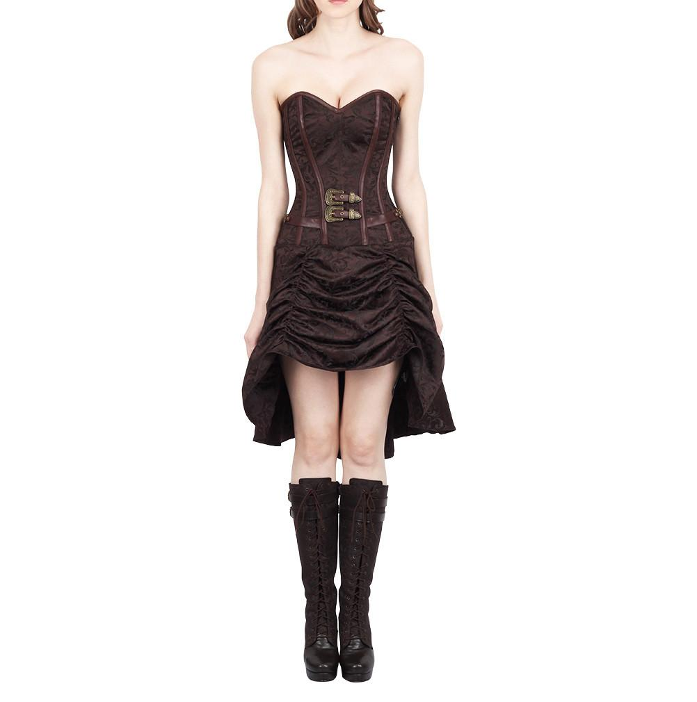 Omawnakw Steampunk Corset Dress
