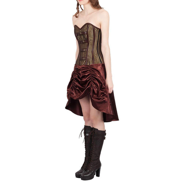 Abhirati Steampunk Corset Dress