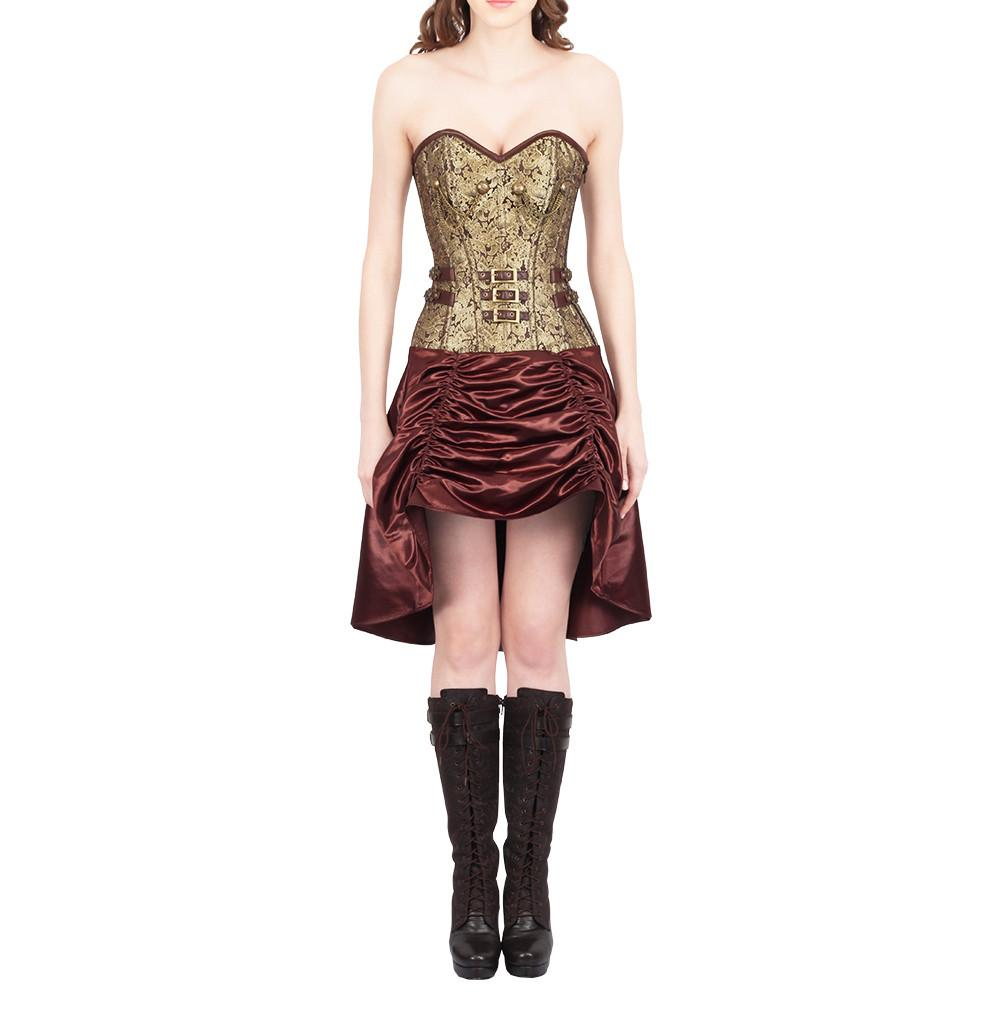 Abhiraja Steampunk Corset Dress