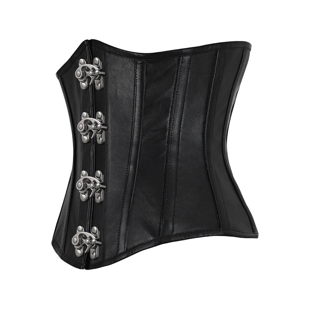 Garritt Genuine Sheep Napa Leather Custom Made Corset