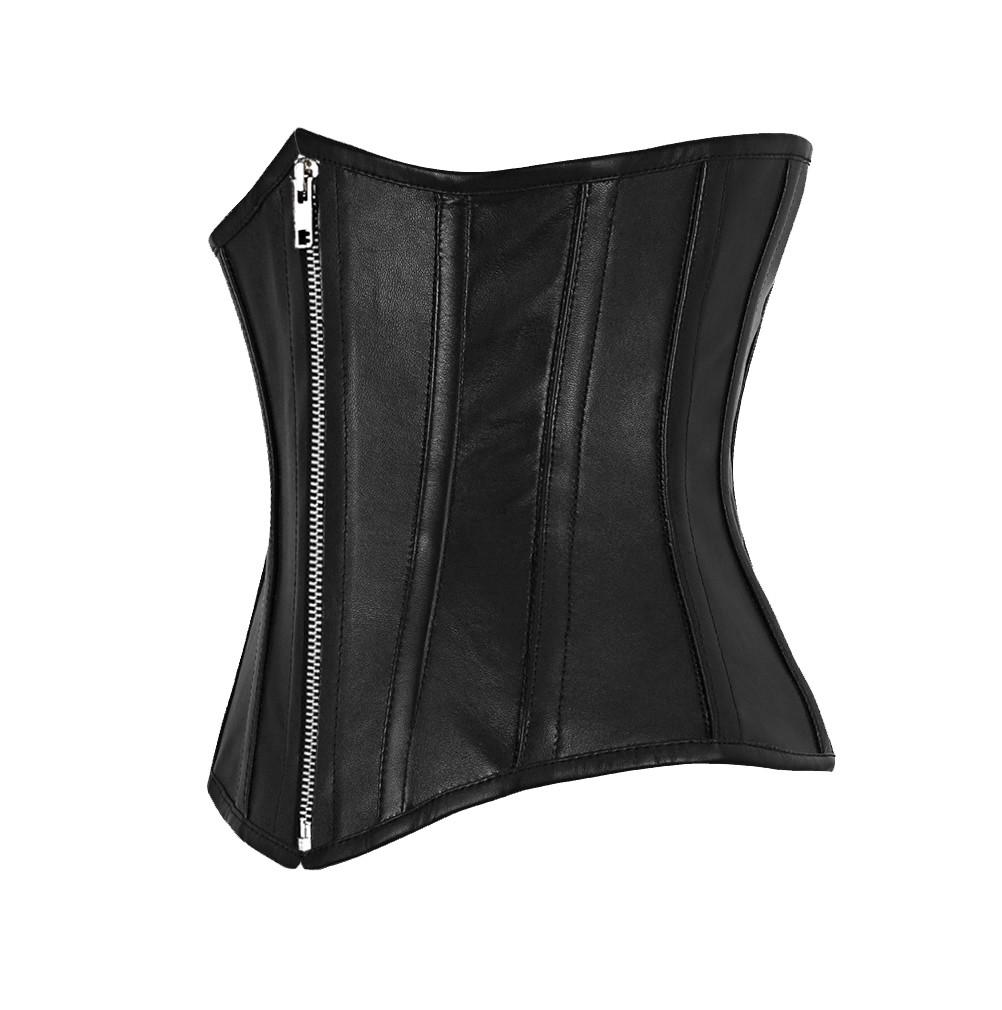 Harlak Leather Underbust Corset