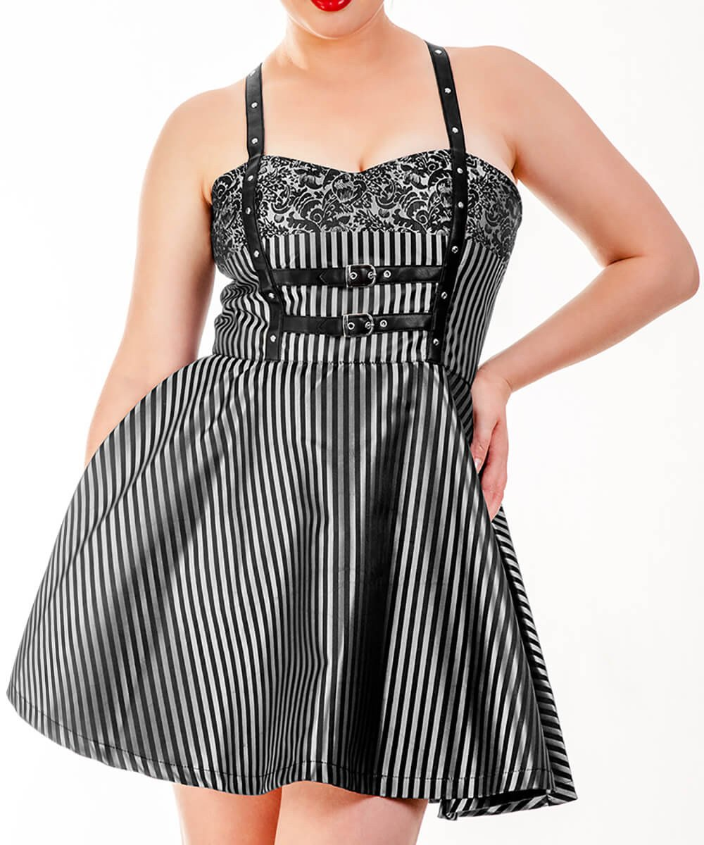 Riyad Shoulder Straps Skater Dress-Pre-Order Deal