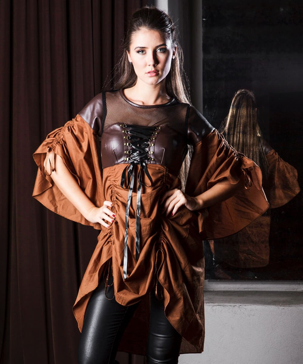 Elric Steampunk Dual Top & Dress
