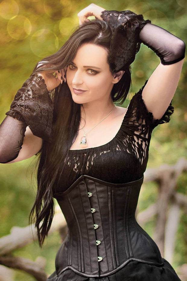 Peirce Custom Made New Curvy Waist Training Underbust Corset