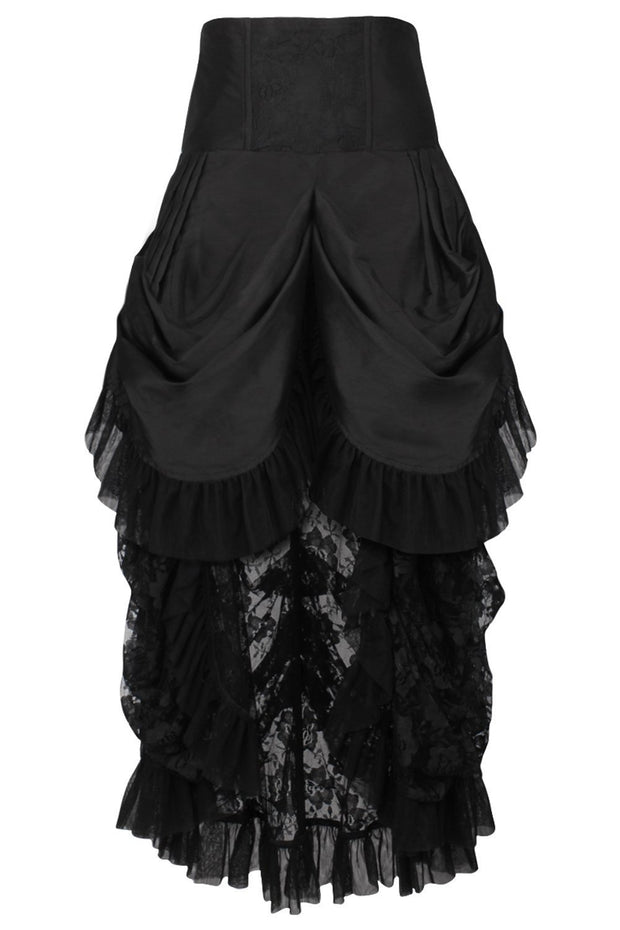 Elleen Custom Made Black Victorian Skirt