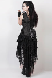 Evelynn Victorian Inspired Corset Dress