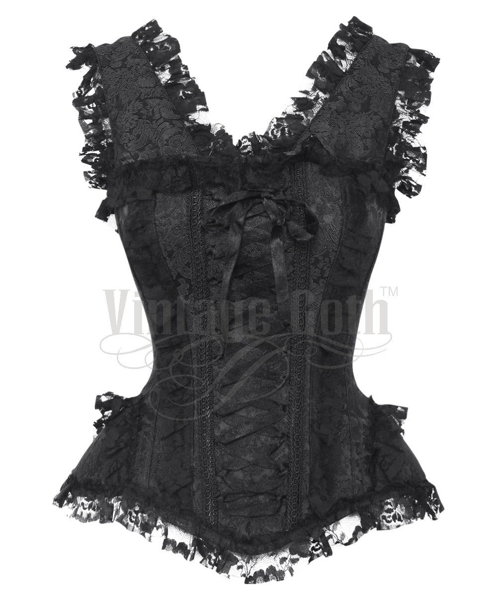 Akio Victorian Inspired Overbust Custom Made Corset