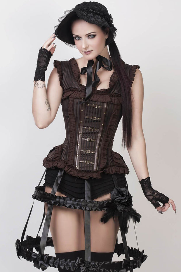 Romola Victorian Inspired Steampunk Corset