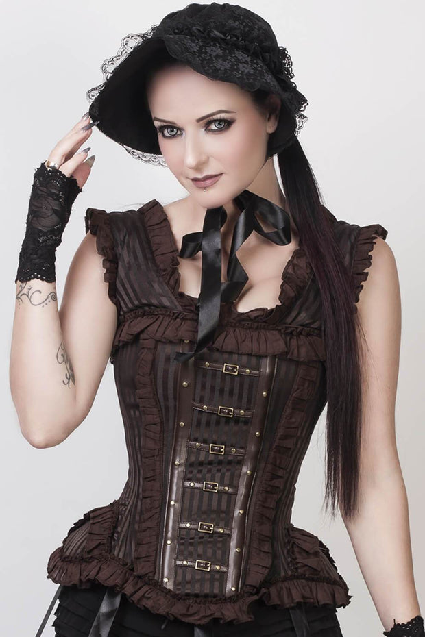 Romola Custom Made Victorian Inspired Steampunk Corset