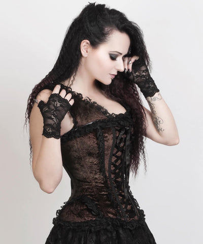 Leeann Brown Victorian Inspired Custom Made Corset