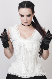 Ceren Victorian Inspired Steel Boned Corset